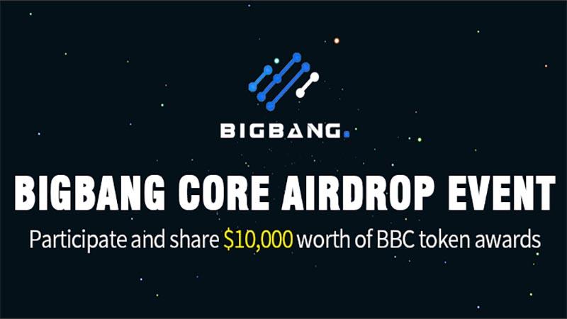 Bigbang core airdrop