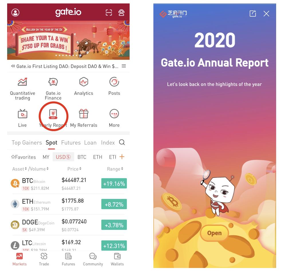 Gate.io annual report